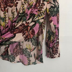 Free People Tops - Free people floral button down blouse